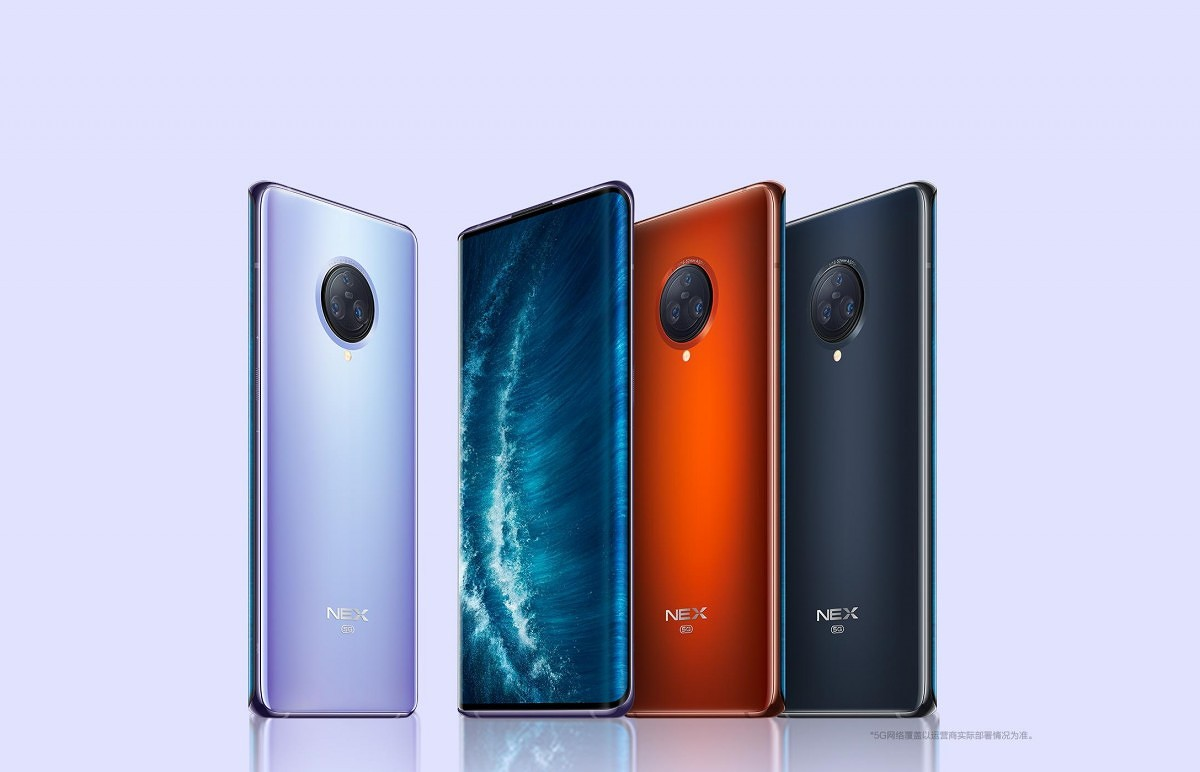smartphone Vivo desain terbaik